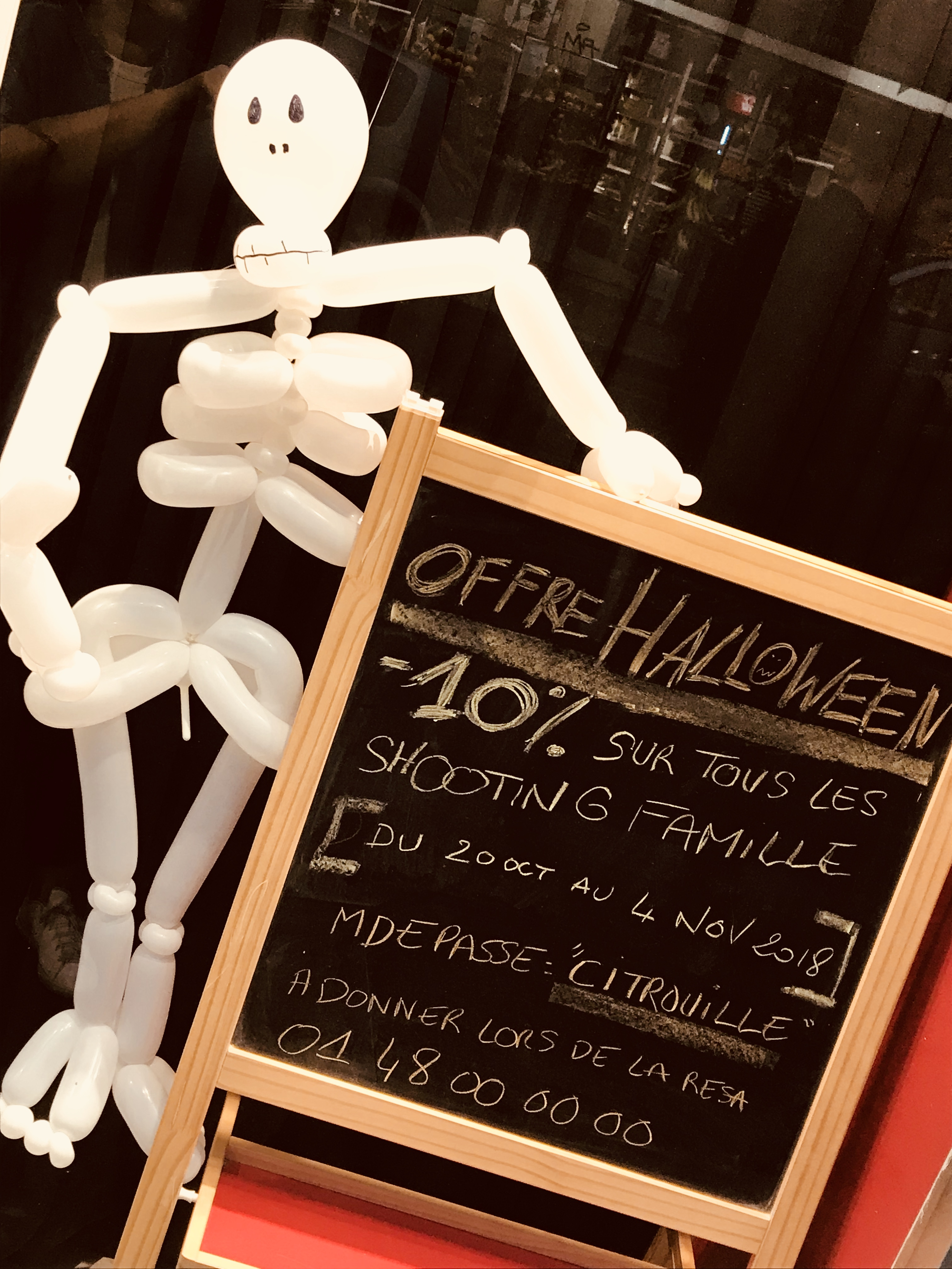 OFFRE SPECIALE SHOOTING FAMILLE HALLOWEEN…