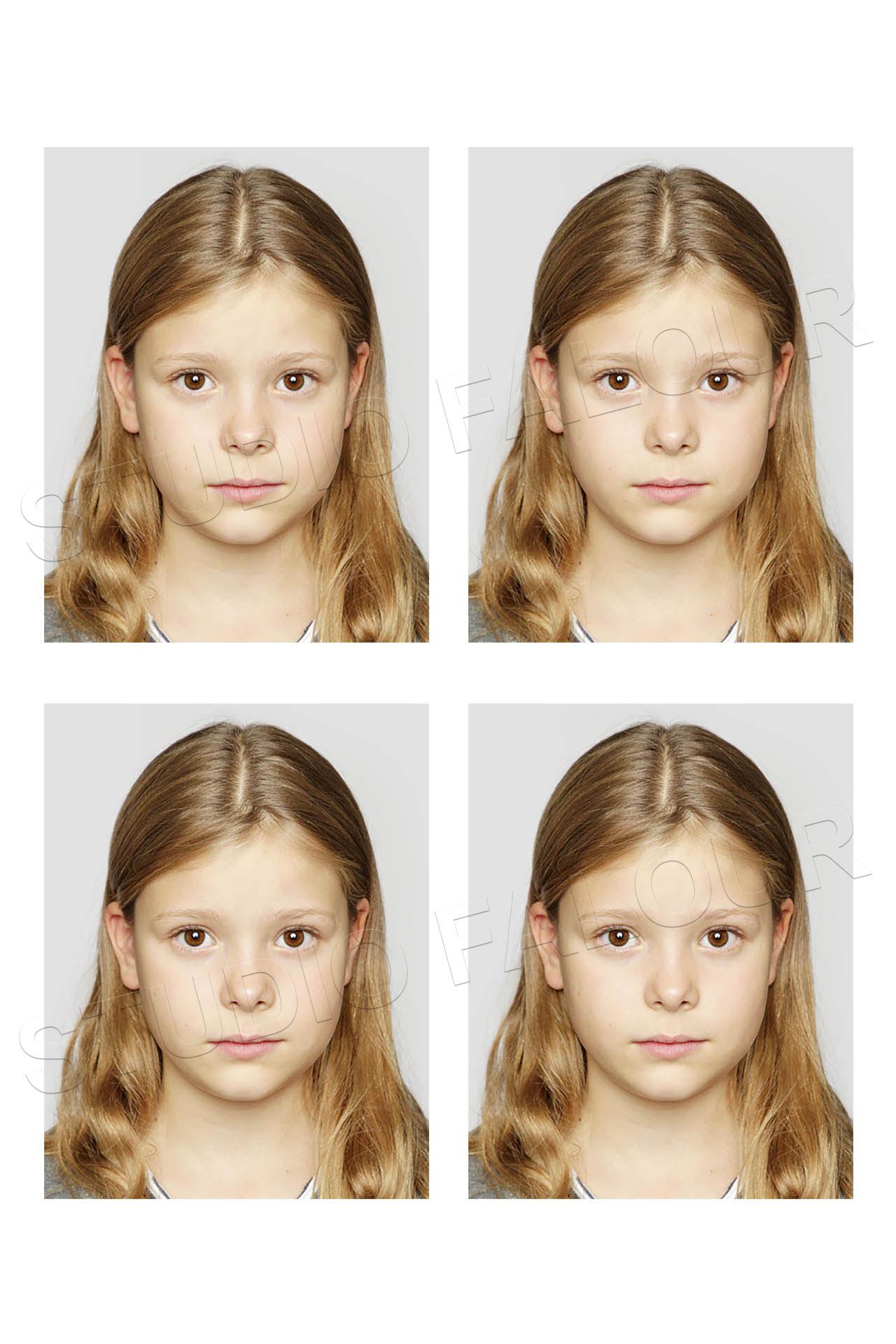 Photo d'identité Passeport et Visa